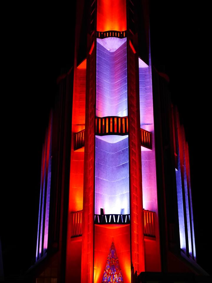 Illumination de l'Eglise Notre Dame de Royan