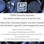 Voeux de l'APMAC Nouvelle-Aquitaine