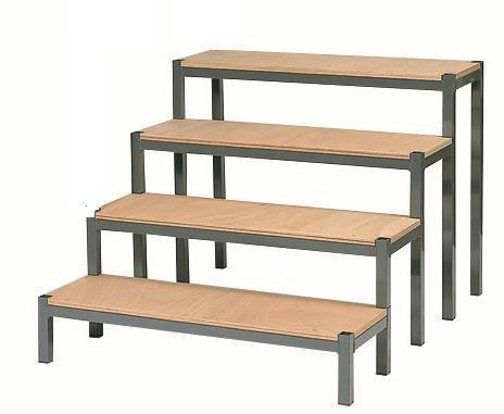 escalier pour interieur 4 marches h 80cm apmac nouvelle. Black Bedroom Furniture Sets. Home Design Ideas