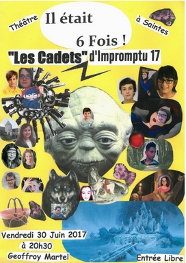 Médiathèque de Saintes & Impromptu 17 – Théâtre