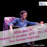 «Irène Braun» à Saint Jean d'Angély
