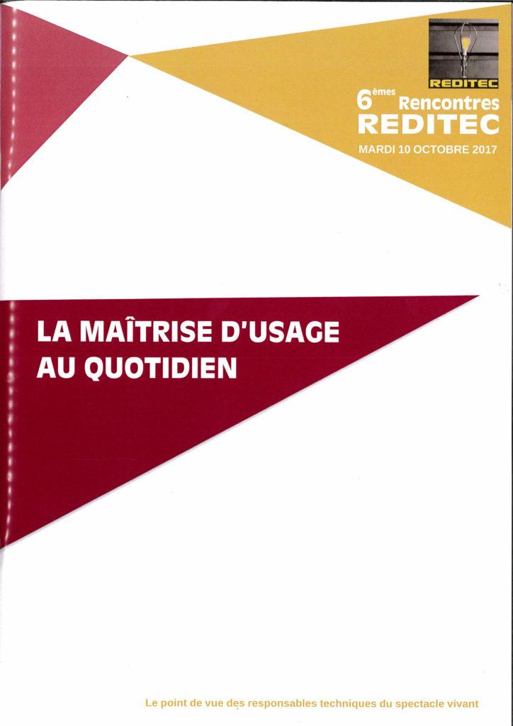 REDITEC – Les Actes des 6èmes rencontres
