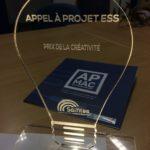 Le trophée de la créativité pour l'APMAC