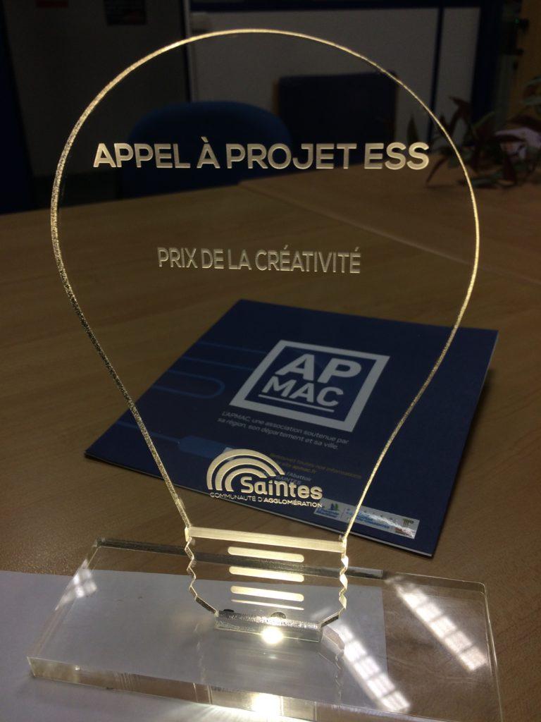 ESS : le trophée de la créativité pour l'APMAC
