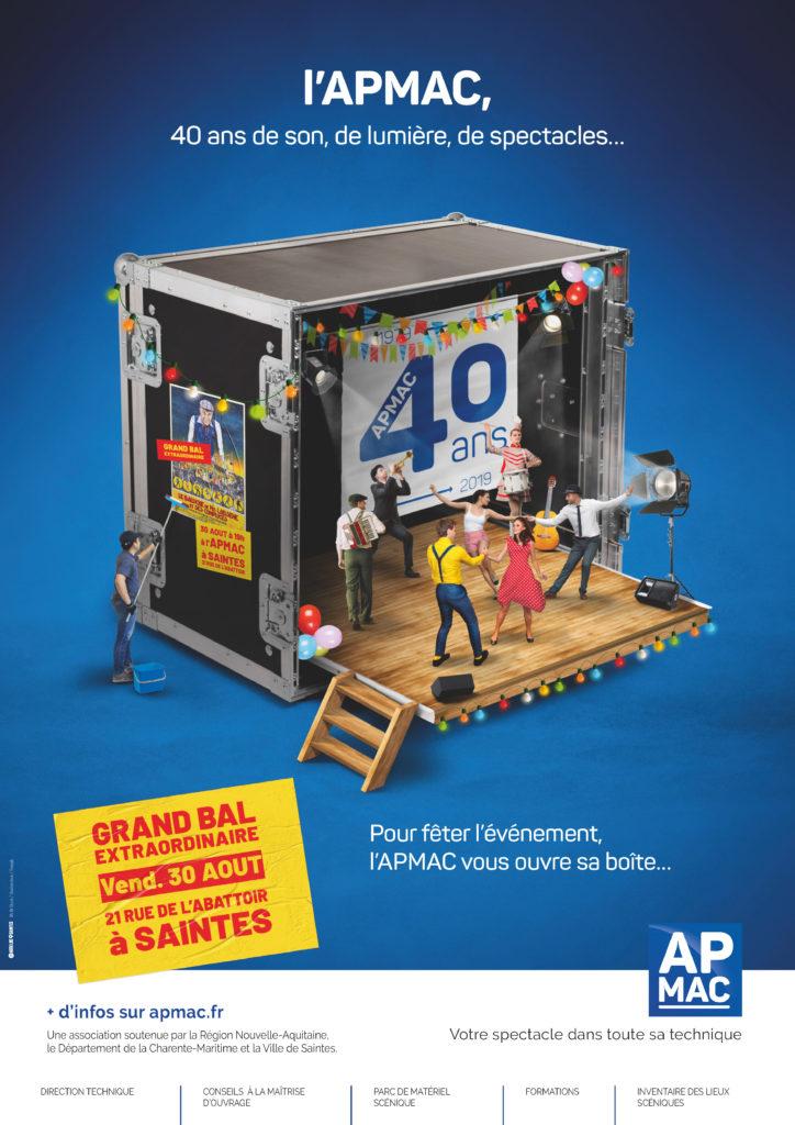 L'APMAC vous ouvre sa boîte pour ses 40 ans !