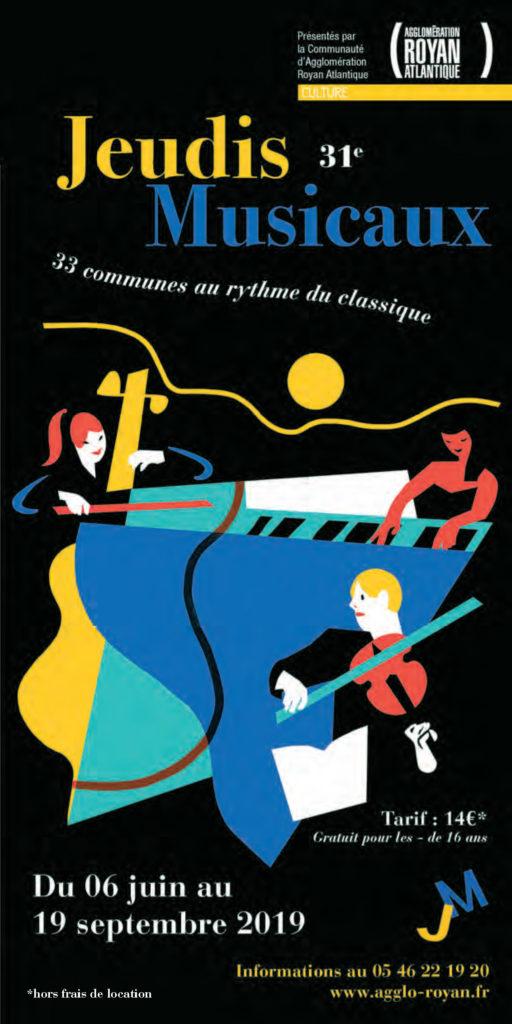 40 ans de l'APMAC : 30 années d'accompagnement des Jeudis Musicaux.